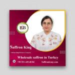 Wholesale saffron in Turkey